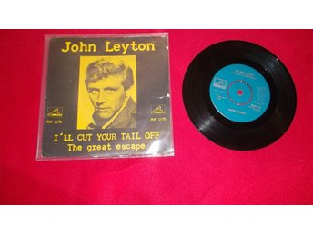 "John Leyton ""I`ll cut your tail off""  singel"