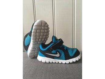 0e37be0db07 Nike blåa sneakers str 23,5 (341599359) ᐈ Köp på Tradera