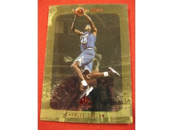 CHARLES OUTLAW  - SP AUTHENTIC 1997-98 - ORLANDO MAGIC - BASKET
