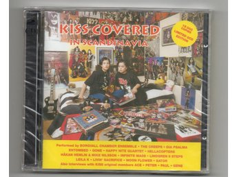KISS COVERED IN SCANDINAVIA tribute intervju NY plastad 2 CD