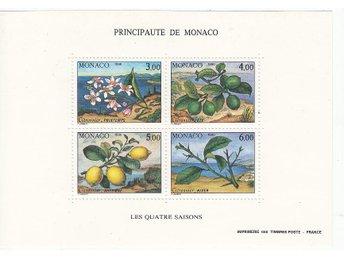 Monaco 1990. Mnr: Block nr 49 ** - Njurunda - Monaco 1990. Mnr: Block nr 49 ** - Njurunda