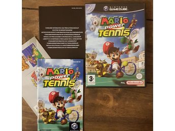 Mario Power Tennis Nintendo Gamecube