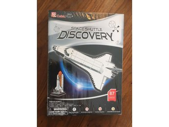 3D Modell Ej öppnad Discovery Space Shuttle