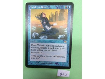 Read the runes - Onslaught - Magic the gathering