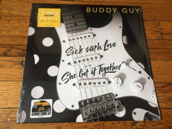 "BUDDY GUY Sick With Love 10"" Vinyl Single 2017 USA Import RECORD STORE DAY"