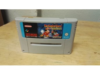 Snes spel , the magical quest , mickey mouse , super Nintendo