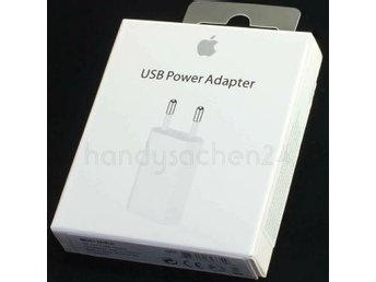 Apple USB Power Adapter - Apple original i förseglad förpackning