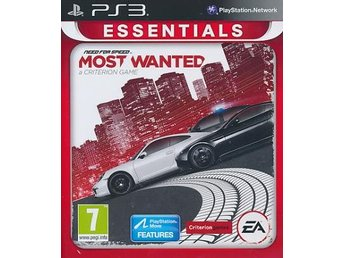 NFS Most Wanted (2012) Ess.PS3 (PS3)