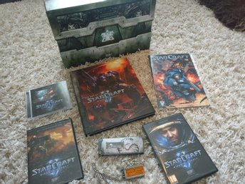 Starcraft 2 Wings of Liberty collectors edition - komplett