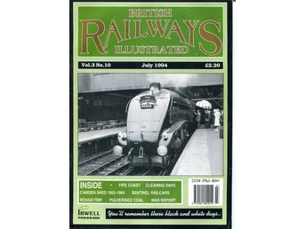 2 'British Railways Illustrated' månadstidningar