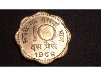 1969 India 10 Paise