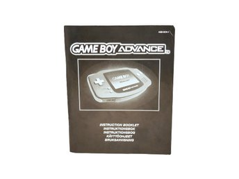 Instruction Booklet Game Boy Advance (SCN)