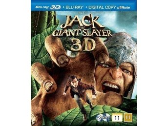 JACK THE GIANT SLAYER. NY OCH INPLASTAD PÅ BLU-RAY 3D + BLU-RAY