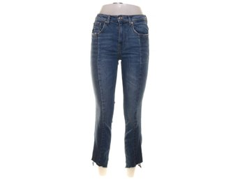 Zara Woman Premium Denim Collection, Jeans, Strl: 34, Blå