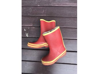 Tenson Gummistövlar röda Storlek 30 (innermått .. (350128306