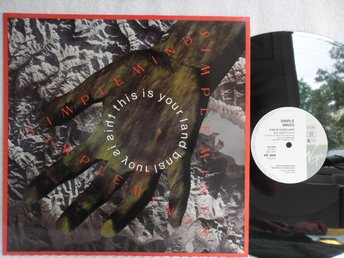 SIMPLE MINDS - THIS IS YOUR LAND - VIRGIN SMXT 4