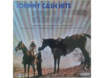 John Cassidy With The Everglades  titel*  Johnny Cash Hits* Country, Folk UK LP