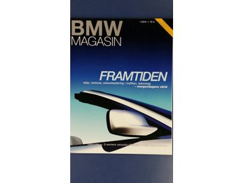 BMW Magasin nr 1 2000: 3-serie cab, M3, X5, F650 GS