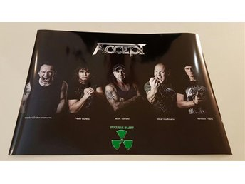 ACCEPT PROMO POSTER 2012