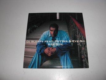 DJ Sleepy Feat. Petter & Eye-N-1 - Vår stil - CD Singel - Västervik - DJ Sleepy Feat. Petter & Eye-N-1 - Vår stil - CD Singel - Västervik