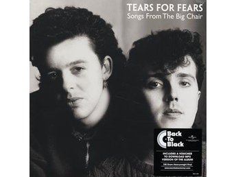 Tears For Fears: Songs from the big chair (Vinyl Download) - Nossebro - Tears For Fears: Songs from the big chair (Vinyl Download) - Nossebro