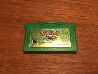 Game Boy Advance - Pokemon LeafGreen