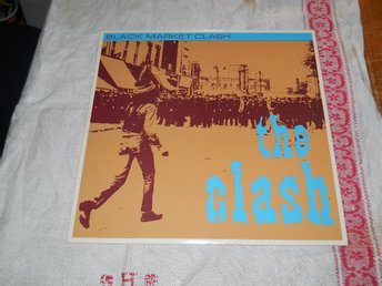 "THE CLASH--Black market clash.       10"" LP"