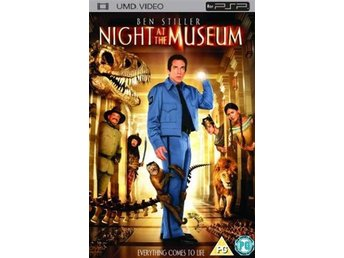 Night At The Museum - UMD DVD - Playstation PSP