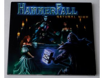 HammerFall / Natural High CD pappersomslag