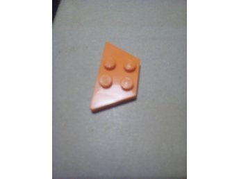 lego nytt orange 2x4 wedge kil vinkel