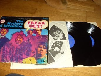 The Mother Of Invention 2 Lp.Freak Out. Rare 1:a !!!!!