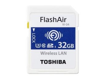 Toshiba SD FlashAir NW04 32GB Wlan (90/70 Mb/s)