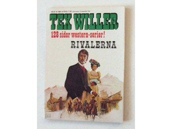 TEX WILLER 1981 nr 8 oläst arkivex VF-NM REA 9kr