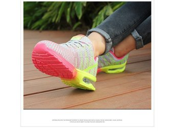 damskor strl 40 i gray woman breathable running shoes