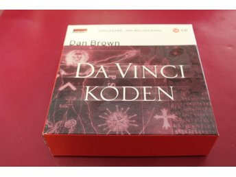 CD-bok: Da Vinci Koden - Dan Brown