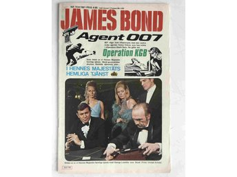 James Bond - Löpnr: 70 VG-FN