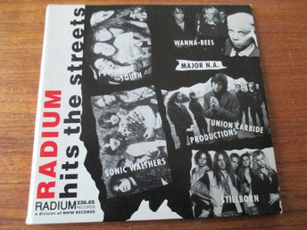 RADIUM HITS THE STREET (Promo CD, 1992) Union Carbide Productions