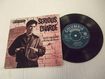Cliff Richard and the Drifters Serious charge SEG 7895
