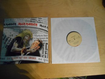 Iron Maiden - Vinyl - BE QUICK OR BE DEAD