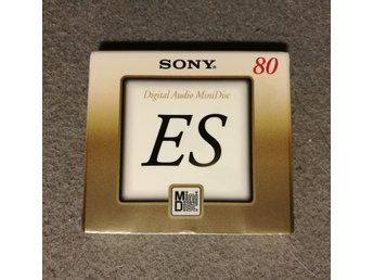 Sony MiniDisc ES 80 ny/inplastad. (Made in Japan)