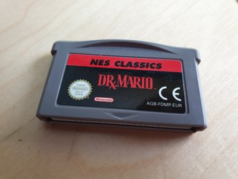 Dr. Mario - NES Classic Nintendo Game Boy Advance
