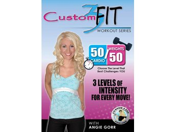 Custom 3 Fit Workout Series With Angie Gorr - 50/50 Cardio & Weights (DVD) - Trollhättan - Custom 3 Fit Workout Series With Angie Gorr - 50/50 Cardio & Weights (DVD) - Trollhättan