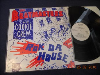 "THE BEATMASTERS Featuring THE COOKIE CREW - Rok da house, Mute 12"" Singel 1987"