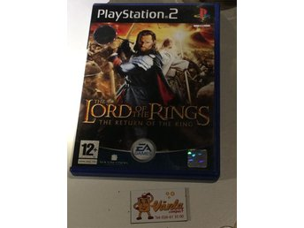 PLAYSTATION 2 12ÅR THE lord ot THE rings THE RETURN OF THE kings