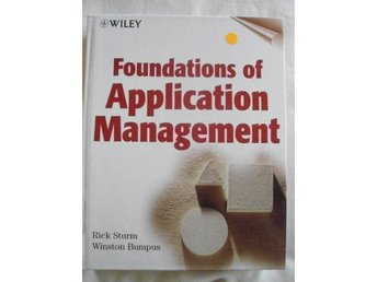 Foundations of Application Management. Sturm/Bumpus