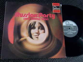 DICK MARTIN BAND - RUSSIAN PARTY LP 1971