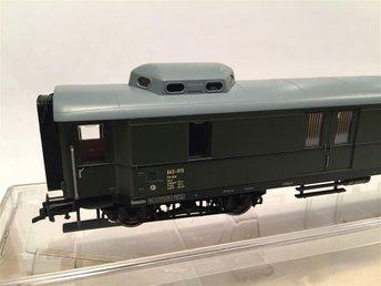 Fleischmann 5740 bagagevagn, skala H0 - Stockholm - Fleischmann 5740 bagagevagn, skala H0 - Stockholm