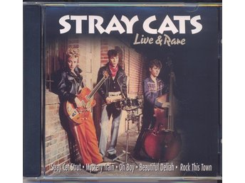 "CD - STRAY CATS - ""LIVE & RARE"" - NYSKICK!"