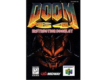 Doom 64 Manuall - Nintendo 64 / N64 - NTSC / USA