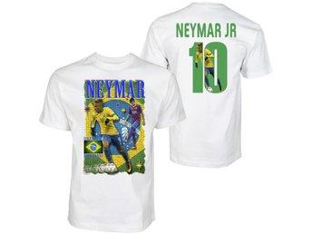 Tshirt Neymar Brasil & Barcelona . Tryck fram & bak 120cl - Markaryd - Tshirt Neymar Brasil & Barcelona . Tryck fram & bak 120cl - Markaryd